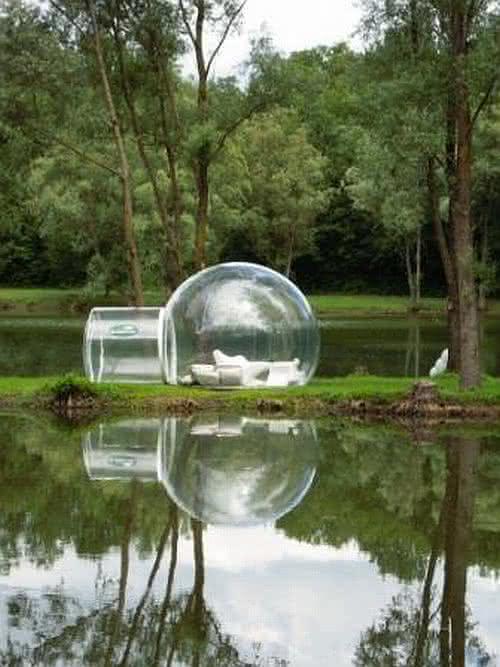 Buble-tent, buble-tree, bolha-para-exterior, bolha-decorativa-para-quintal, decoracao, design-exterior, quintal, quintais, ar-livre 2