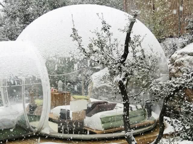 Buble-tent, buble-tree, bolha-para-exterior, bolha-decorativa-para-quintal, decoracao, design-exterior, quintal, quintais, ar-livre 4