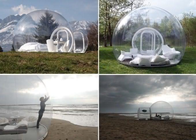 Buble-tent, buble-tree, bolha-para-exterior, bolha-decorativa-para-quintal, decoracao, design-exterior, quintal, quintais, ar-livre 5