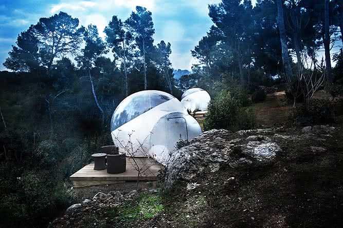 Buble-tent, buble-tree, bolha-para-exterior, bolha-decorativa-para-quintal, decoracao, design-exterior, quintal, quintais, ar-livre 6