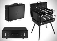 Epicoa-Portable-Rotisserie-Grill, maleta-para-churrasco, maleta-churrasqueira, mala-para-churrasco, churrasco, porque-nao-pensei-nisso