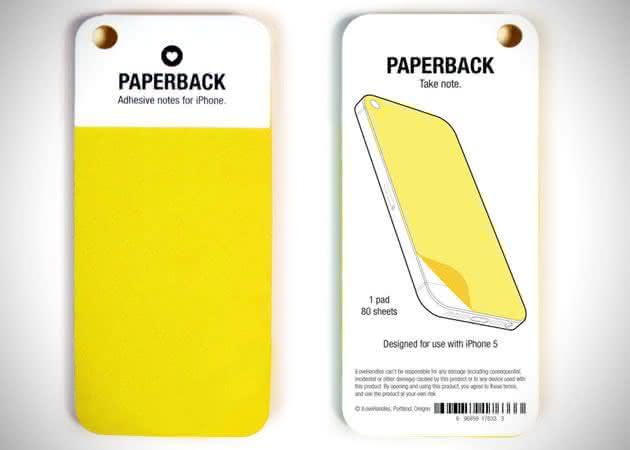iPhone-Paperback-Sticky-Notes, post-it-para-iPhone, inovacao, design, por-que-nao-pensei-nisso 3