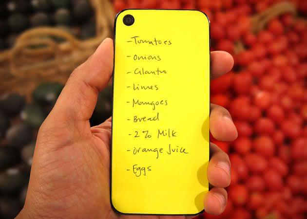 iPhone-Paperback-Sticky-Notes, post-it-para-iPhone, inovacao, design, por-que-nao-pensei-nisso