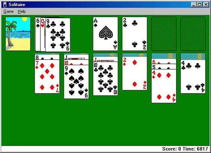 solitaire-exe-playing-cards, jogo-de-cartas, paciencia, design, jogo-paciencia, cartas, carteado, geek, oldschool, design 3