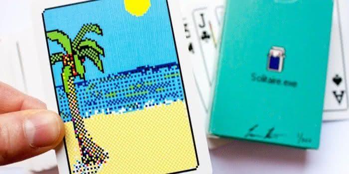 solitaire-exe-playing-cards, jogo-de-cartas, paciencia, design, jogo-paciencia, cartas, carteado, geek, oldschool, design 4