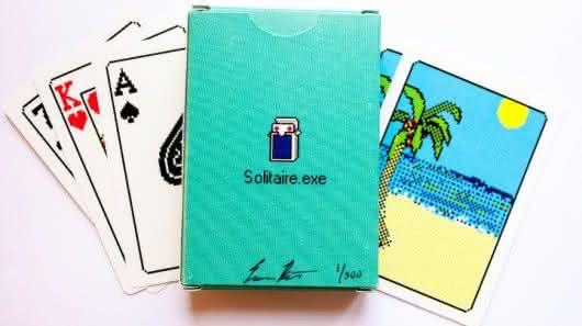 solitaire-exe-playing-cards, jogo-de-cartas, paciencia, design, jogo-paciencia, cartas, carteado, geek, oldschool, design