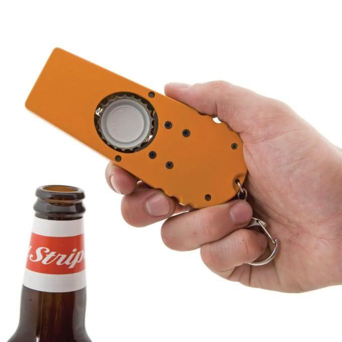 The Cap Zappa, Bottle Opening Cap Launcher, abridor de garrafa, atire a tampinha, atirador de tampa de cerveja, gadget, design, fun 5