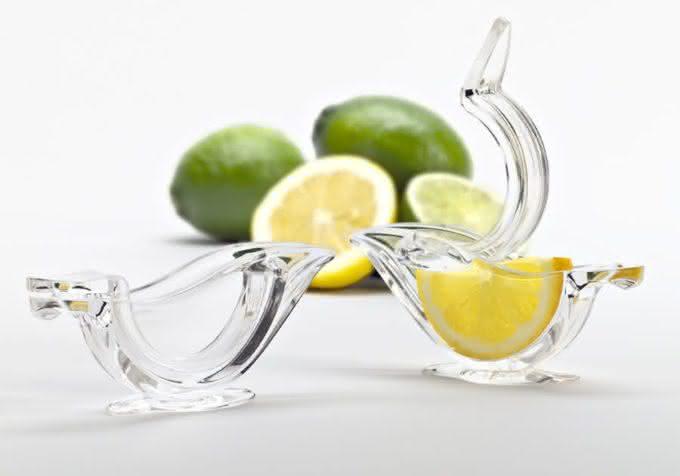 Bird-Shaped-Lemon-Slice-Squeezer, espremedor-de-limao-passarinho, espremedor-de-limao-design, por-que-nao-pensei-nisso 1