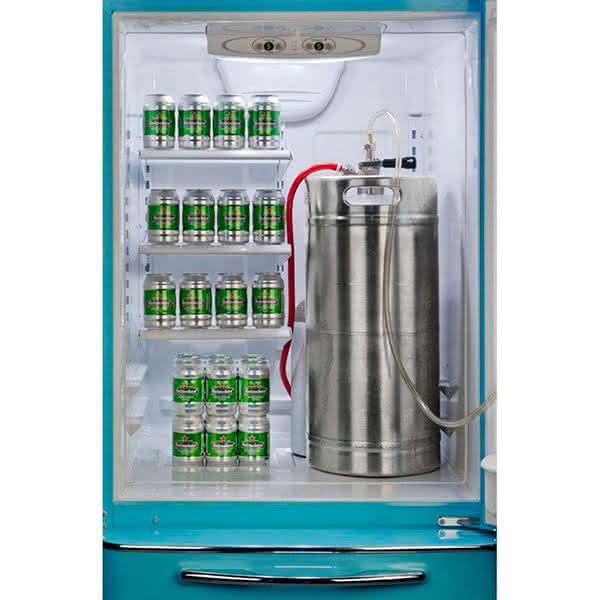 Northstar-Brew-Master-Beer-Fridge-with-Draft-System, geladeira-de-cerveja-chopp, geladeira-retro, por-que-nao-pensei-nisso 1