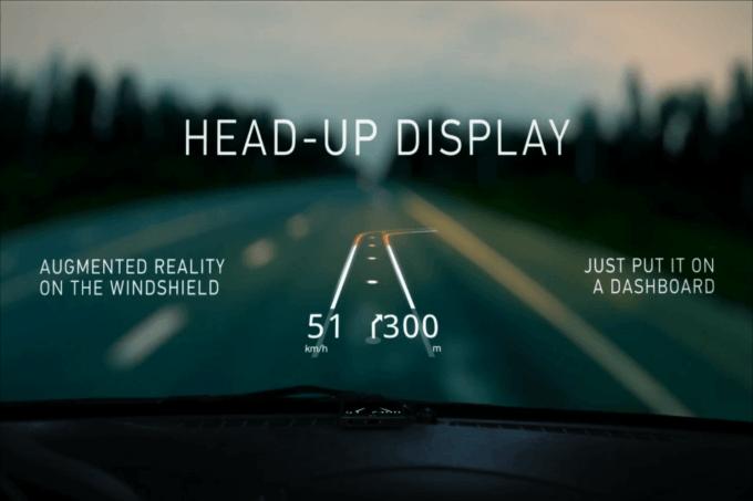 Hudway-head-up-display, Hudway-gps-projetado-no-parabrisa, gps-que-projeta-no-vidro-do-carro, gps-no-vidro-do-carro, Hudway, por-que-nao-pensei-nisso