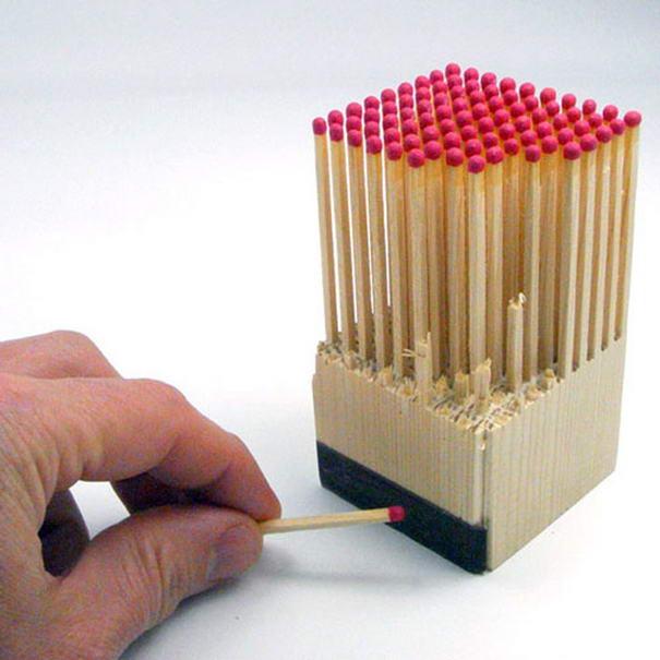 Wooden-Matches-Block, embalagens-criativas, embalagens-design, design-de-embalagem, design-de-embalagens, embalagem-de-produtos, embalagens-divertidas, por-que-nao-pensei-nisso 211