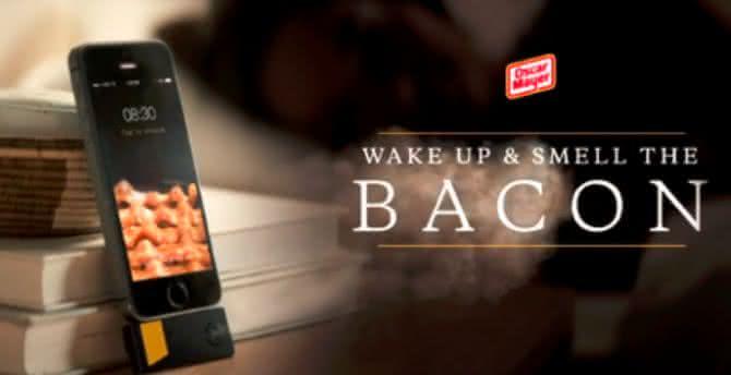 Bacon-Scented-iPhone-Alarm-Clock, despertador-de-bacon, alarme-de-bacon, produtos-de-bacon, app-de-bacon, bacon, i-love-bacon, por-que-nao-pensei-nisso 6