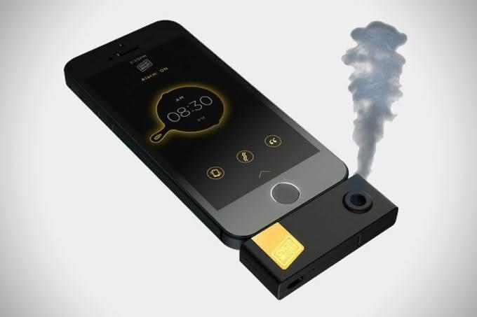 Bacon-Scented-iPhone-Alarm-Clock, despertador-de-bacon, alarme-de-bacon, produtos-de-bacon, app-de-bacon, bacon, i-love-bacon, por-que-nao-pensei-nisso