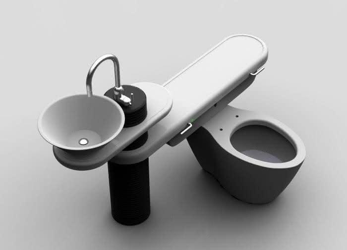 Eco Bath System Reutiliza A 225 Gua Da Pia Na Privada Por