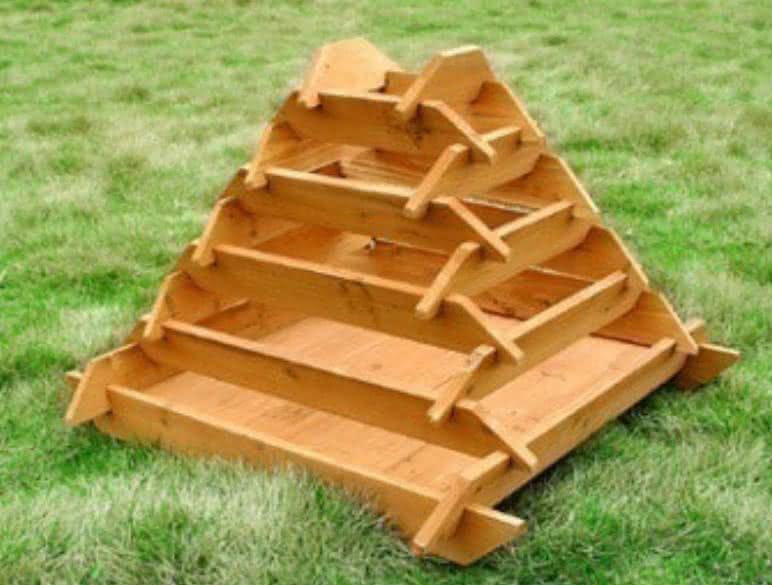 Pyramid garden planter plantar ervas em casa erva aromatica em casa