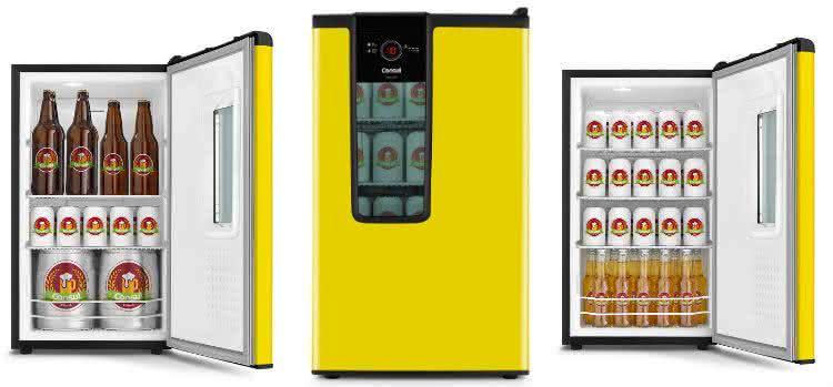 Quem nunca quis uma geladeira de cerveja em casa conhe a - Temperatura freezer casa ...