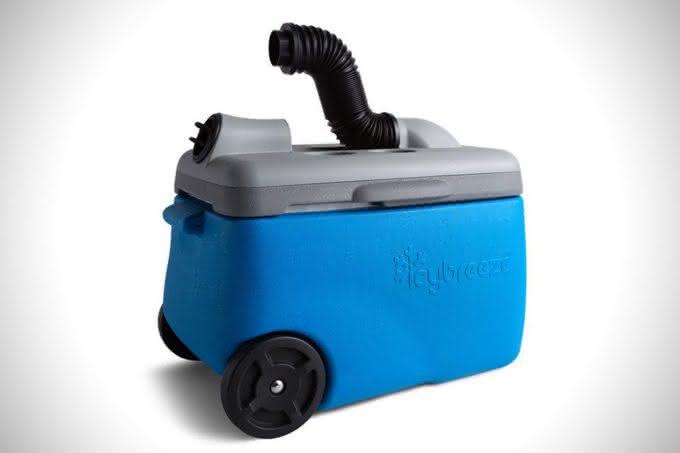 Icybreeze-Portable-Air-Conditioning-Cooler, cooler-ar-condicionado, gelar-bebidas, quanto-custa-cooler, por-que-nao-pensei-nisso