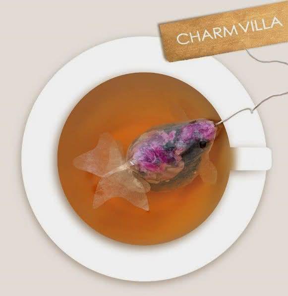 charm-villa, fish-tea-bag, saquinho-de-cha-peixe, design-inovador, cha-com-peixe, por-que-nao-pensei-nisso