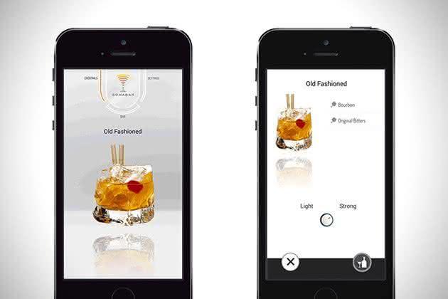 Somabar-Robotic-Bartender-For-The-Home, bartender-particular, somabar-drinks, drinks-praticos, drink-facil, brinde-2015, por-que-nao-pensei-nisso 2