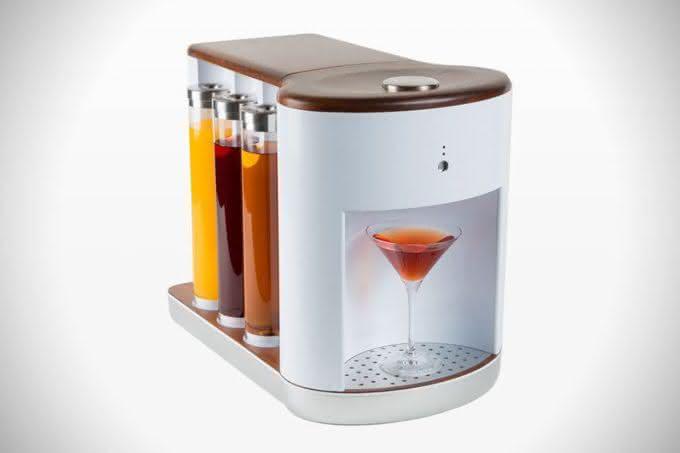 Somabar-Robotic-Bartender-For-The-Home, bartender-particular, somabar-drinks, drinks-praticos, drink-facil, brinde-2015, por-que-nao-pensei-nisso