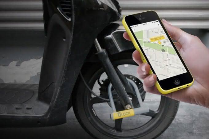 Ulock-Keyless-Smart-Bike-Lock, cadeado-bicileta-wifi, cadeado-de-bike, gadgets-bike, furto-de-bicileta, por-que-nao-pensei-nisso