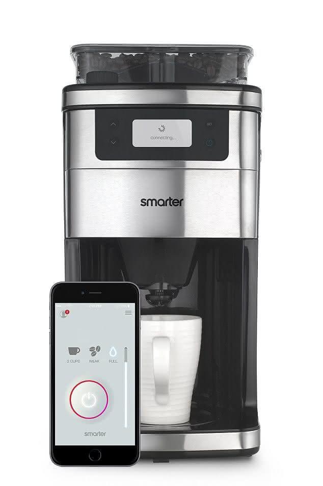 smarter-coffee-machine, wi-fi-coffee-machine, cafeteira-wi-fi, maquina-de-cafe-wi-fi, cafeteira-inteligente, cafe-pelo-celular-smartphone, por-que-nao-pensei-nisso