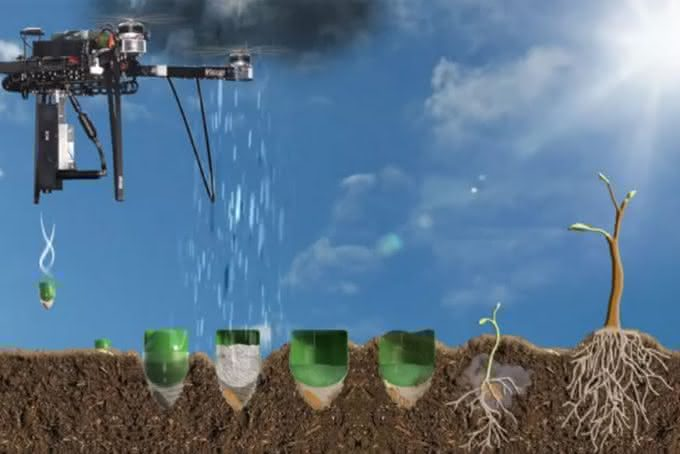 BioCarbon-Engineering,  BioCarbon-drone, drone-plant-tree, drone-planta-arvores, drone-que-planta, drone-sementes, por-que-nao-pensei-nisso 2