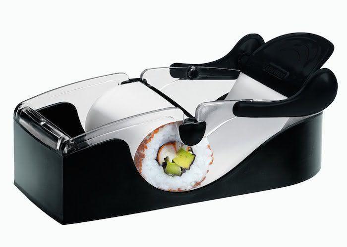 Perfect-Sushi-Roller-by-Leifheit, maquina-de-fazer-sushi, como-fazer-sushi, como-fazer-comida-japonesa, sushi-roll, por-que-nao-pensei-nisso, pnpn 1