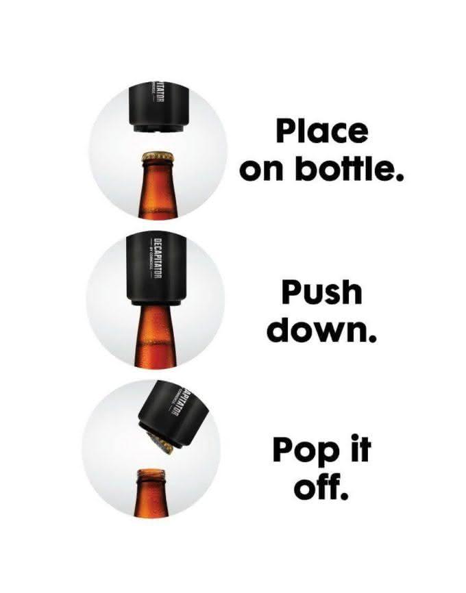Corkcicle-Decapitator-Bottle-Opener, abridor-cerveja-automatico, abridor-inovador, abrir-cerveja, abridores, por-que-nao-pensei-nisso, pnpn 3