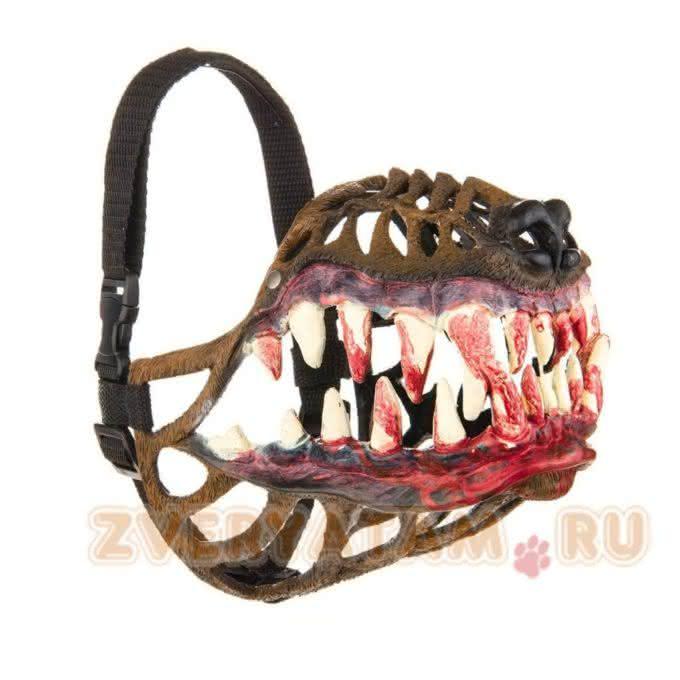 russian-werewolf-dog-muzzle, focinheira-cachorro, focinheira lobisomem, halloween, produtos-halloween, por-que-nao-pensei-nisso, pnpn 2