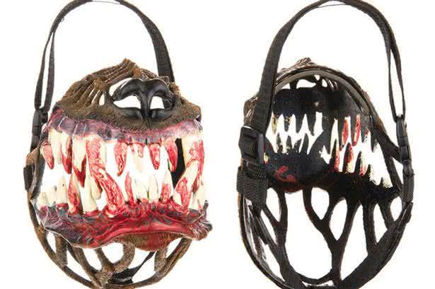 russian-werewolf-dog-muzzle, focinheira-cachorro, focinheira lobisomem, halloween, produtos-halloween, por-que-nao-pensei-nisso, pnpn 7